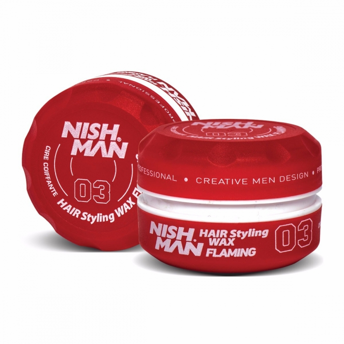 NISHMAN Aqua Saç Wax FLAMING 150 ML